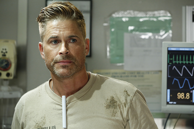 Rob Lowe: 'The Grinder' Is Trapped In 'Code Black' Season 2 | IndieWire