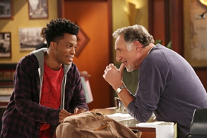 "Jermaine Fowler and Judd Hirsch, ""Superior Donuts"""