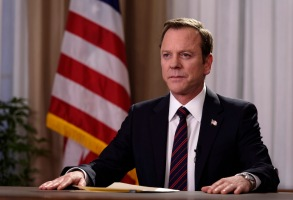 "DESIGNATED SURVIVOR - ""Pilot"" - Kiefer Sutherland stars as Tom Kirkman, a lower-level cabinet member who is suddenly appointed President of the United States after a catastrophic attack on the U.S. Capitol during the State of the Union, on the highly anticipated ABC series ""Designated Survivor"""
