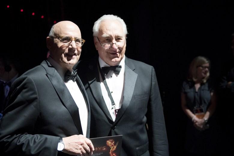 Jeffrey Tambor and Emmys producer Don Mischer