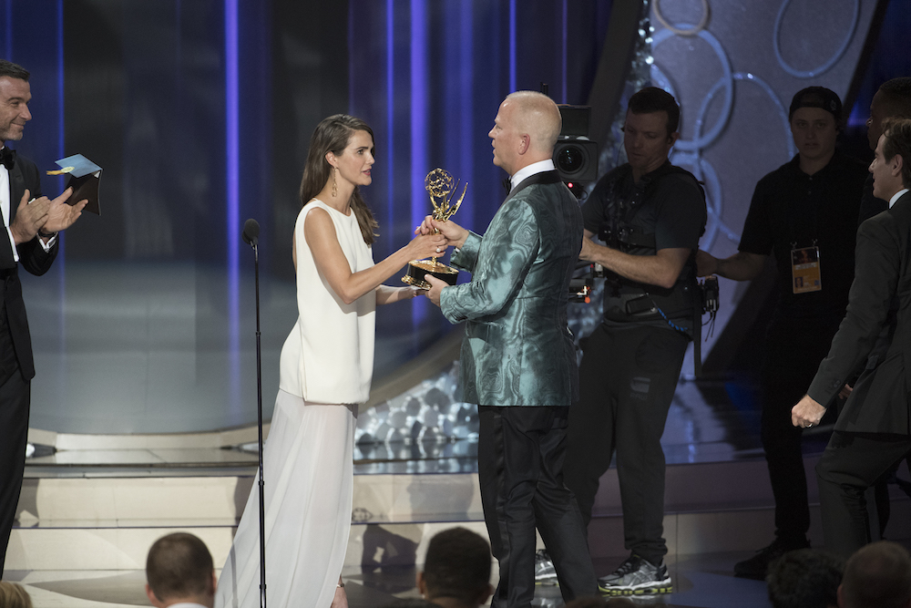 "THE 68TH EMMY(r) AWARDS - ""The 68th Emmy Awards"" broadcasts live from The Microsoft Theater in Los Angeles, Sunday, September 18 (7:00-11:00 p.m. EDT/4:00-8:00 p.m. PDT), on ABC and is hosted by Jimmy Kimmel"