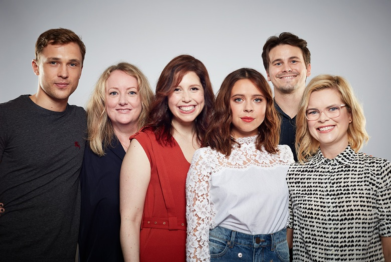 actor William Moseley, director Susan Johnson, actress Vanessa Bayer, actress Bel Powley, actor Jason Ritter, writer Kara Holden