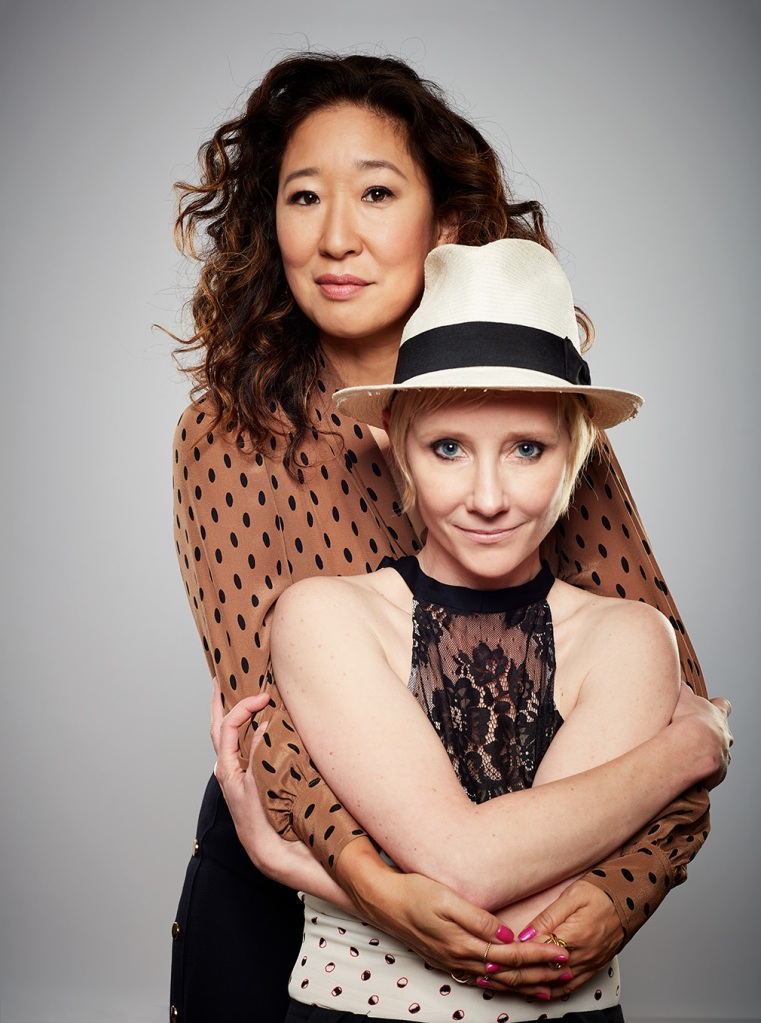Sandra Oh and Anne Heche