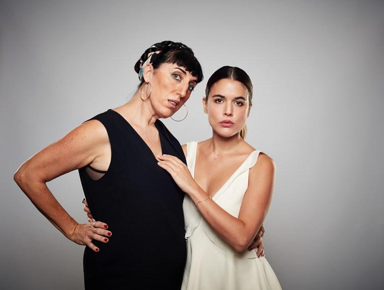 Rossy De Palma and Adriana Ugarte