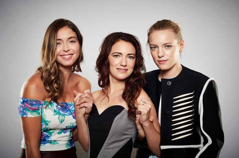 Natalie Krill, director April Mullen, Erika Linder