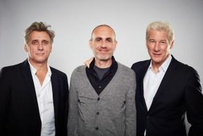 actor Lior Ashkenazi, director Joseph Cedar, actor Richard Gere