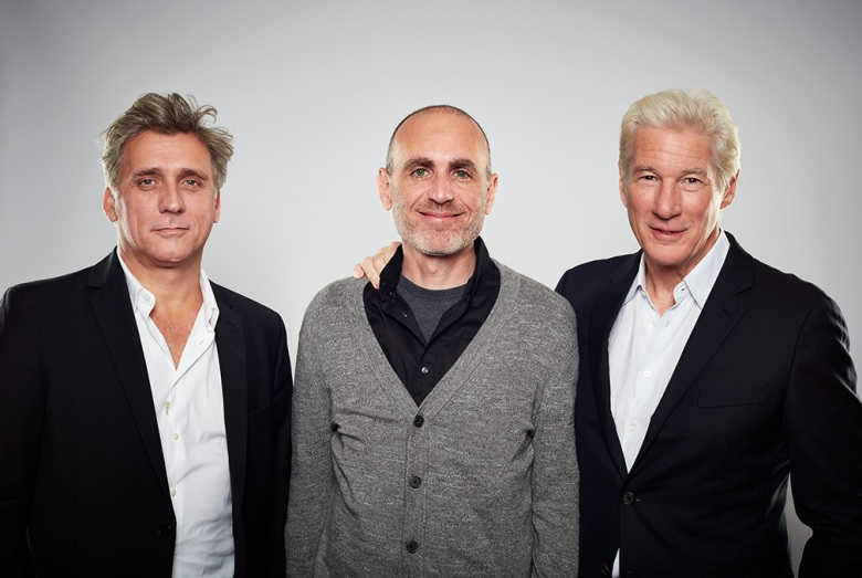 actor Lior Ashkenazi, director Joseph Cedar, actor Richard Gere