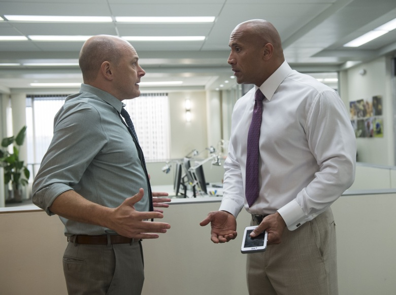 """Rob Corddry and Dwayne Johnson in """"Ballers."""""""