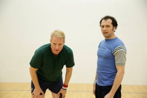 """THE AMERICANS -- """"The Day After"""" Episode 409 (Airs, Wednesday, May 11, 10:00 pm/ep) -- Pictured: (l-r) Noah Emmerich as Stan Beeman, Matthew Rhys as Philip Jennings"""