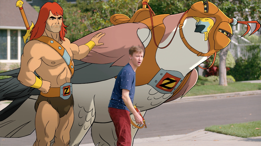 SON OF ZORN: L-R: Zorn (voiced by Jason Sudeikis) and Johnny Pemberton in SON OF ZORN coming soon to FOX