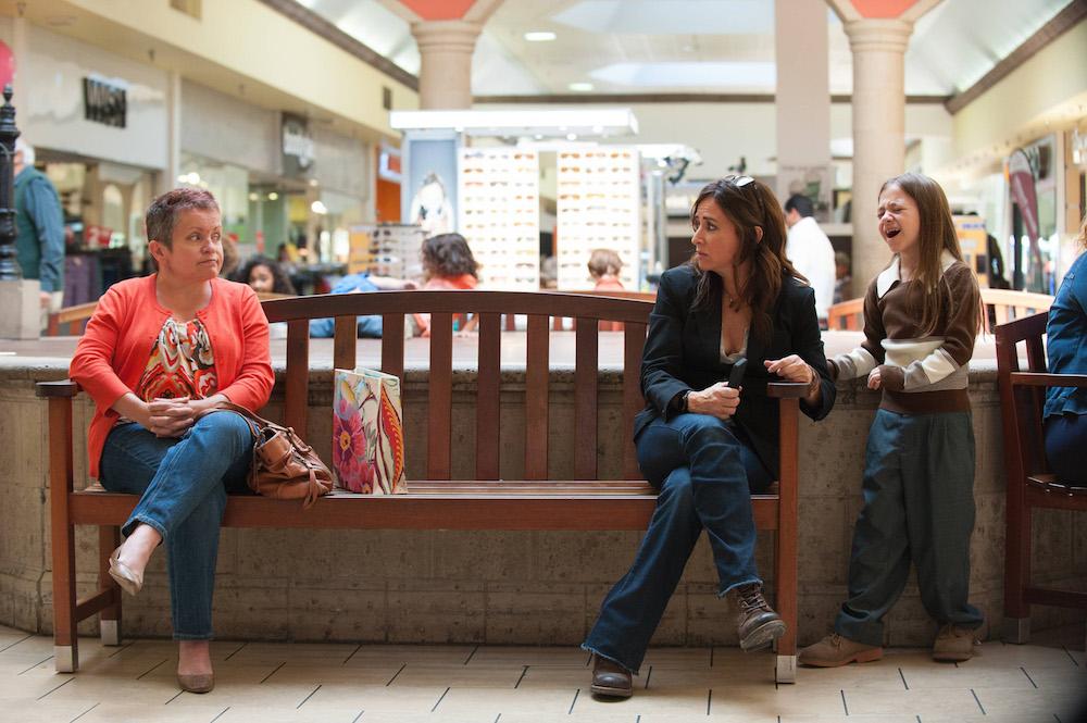 """BETTER THINGS """"Sam/Pilot"""" Episode 1 (Airs Thursday, September 8, 10:00 pm/ep) -- Pictured: (center-right) Pamela Adlon as Pam, Olivia Edward as Duke)"""