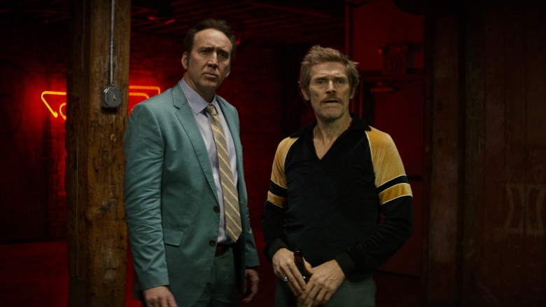 Nicolas Cage and Willem Dafoe in Dog Eat Dog