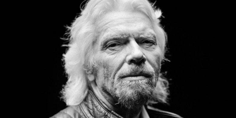 Don't Look Down Richard Branson