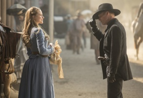 Westworld Season 1 Episode 1 Evan Rachel Wood Ed Harris