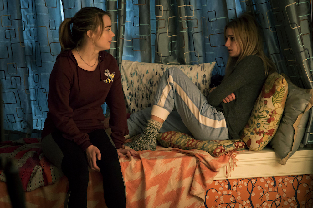 THE EXORCIST: L-R: Hannah Kasulka and Brianne Howey in THE EXORCIST premiering Friday, Sept. 23 (9:00-10:00 PM ET/PT) on FOX. ©2016 Fox Broadcasting Co.