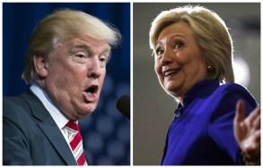 Donald Trump and Hillary Clinton Presidential Debate