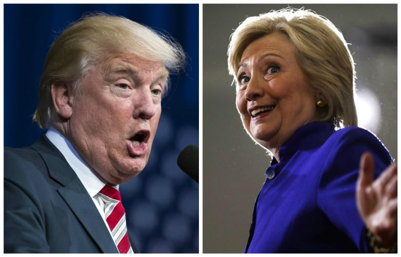 Donald Trump and Hillary Clinton Presidential Debate