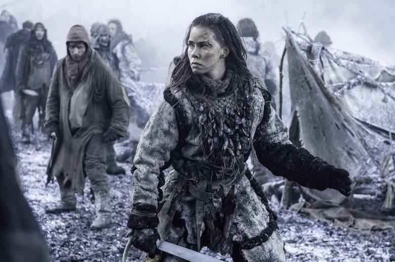 "Birgitte Hjort Sorenson in ""Game of Thrones"""