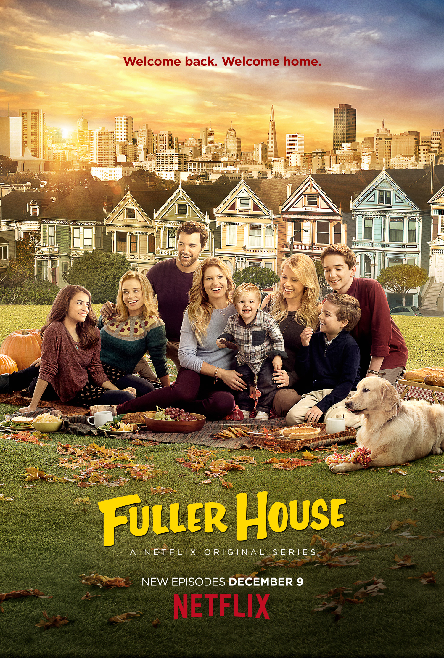 Fuller House season two poster
