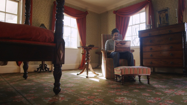 Lin-Manuel Miranda, Aaron Burr's bedroom, The Morris-Jumel Mansion, Washington Heights