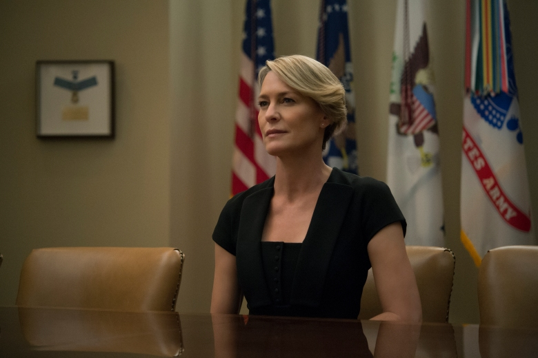 House of Cards Season 4 Robin Wright