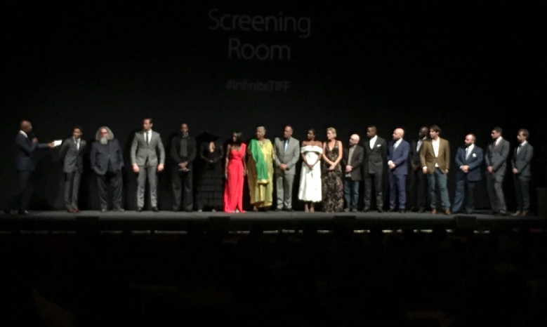 """The cast and producers of """"The Birth of a Nation"""""""