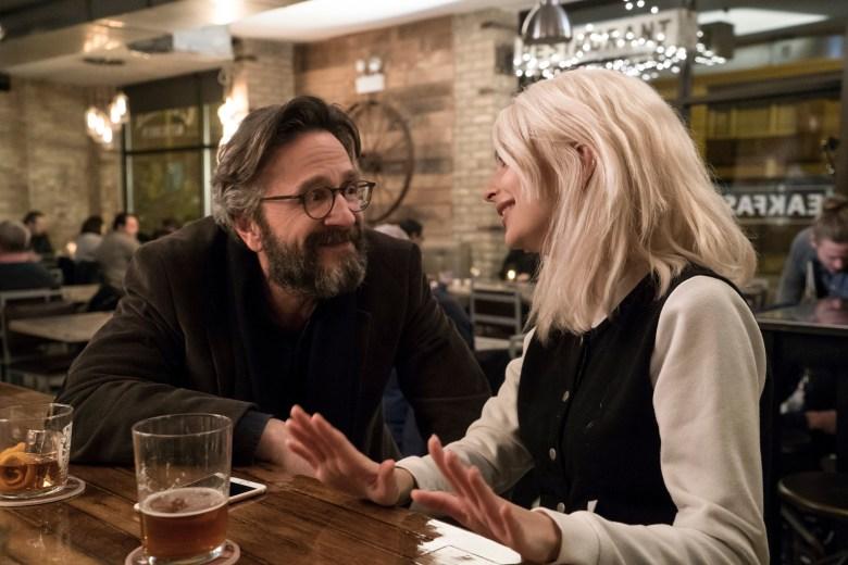 """Marc Maron and Emily Ratajkowski in """"Easy."""""""