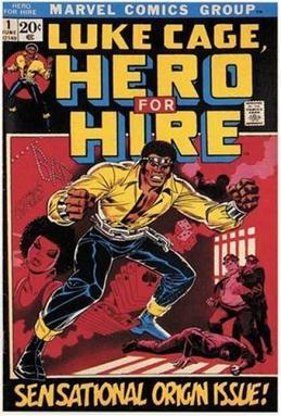 """Luke Cage"" Marvel Comic"