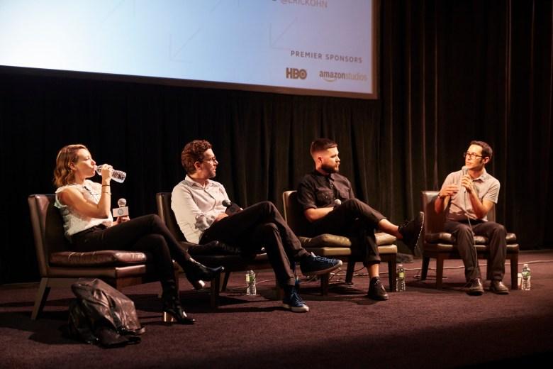 Jodi Redmond, Jay Van Hoy, Robert Eggers & Eric Kohn at IFP Film Week