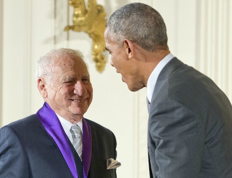 Mel Brooks President Obama