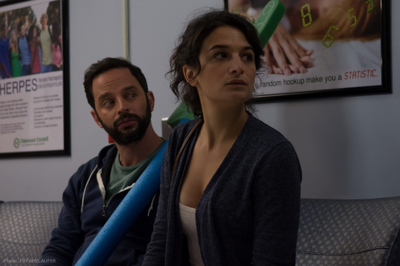 "Nick Kroll and Jenny Slate in ""My Blind Brother"""