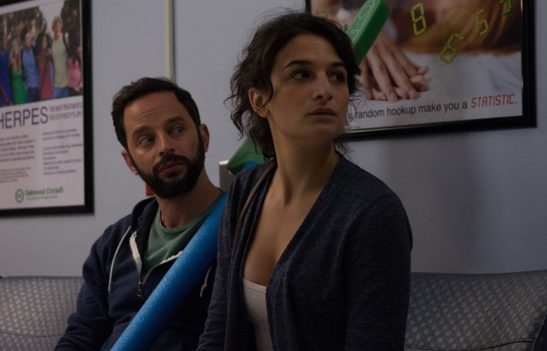 """Nick Kroll and Jenny Slate in """"My Blind Brother"""""""