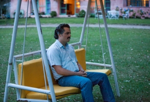 "Wagner Moura in ""Narcos."""