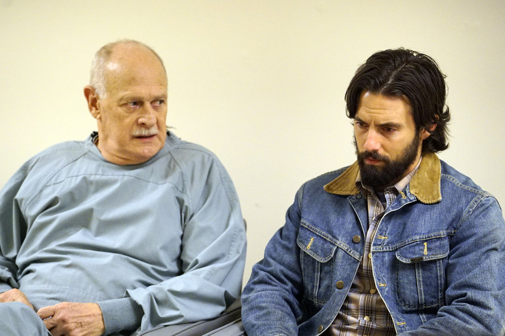 This Is Us Gerald McRaney & Milo Ventimiglia