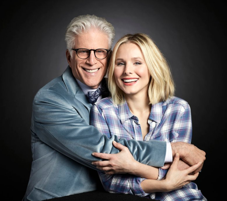 "Ted Danson and Kristen Bell, ""The Good Place"""