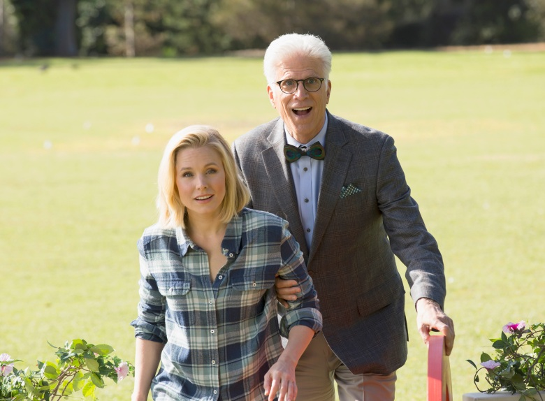 "Kristen Bell and Ted Danson on ""The Good Place"""