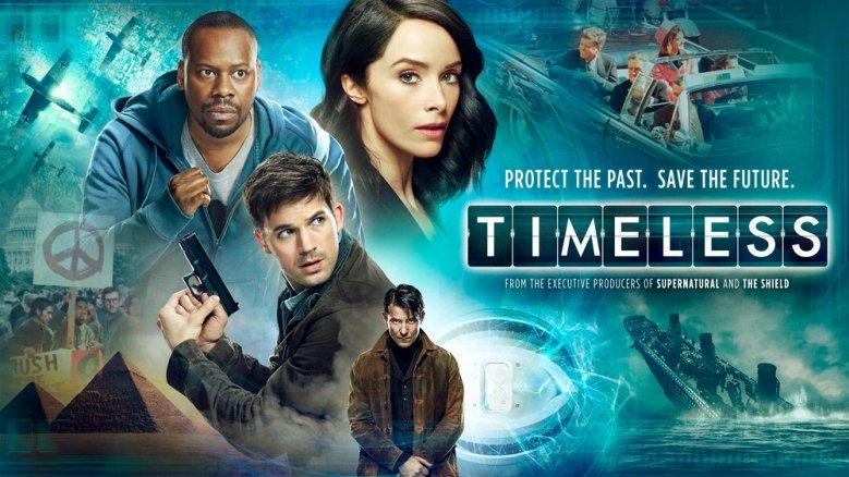 'Timeless' key art