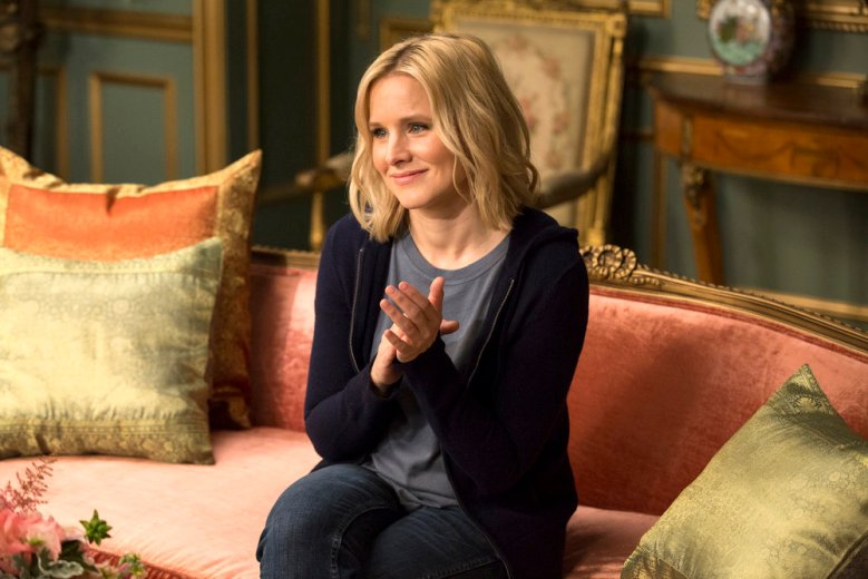 "THE GOOD PLACE -- ""Tahani Al-Jamil"" Episode 103 -- Pictured: Kristen Bell as Eleanor"
