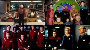 Star Trek, Star Trek: The Next Generation, Star Trek Deep Space Nine, Star Trek Voyager