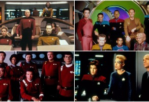 Star Trek, Star Trek: The Next Generation, Star Trek Deep Space Nine, Star Trek Voyager