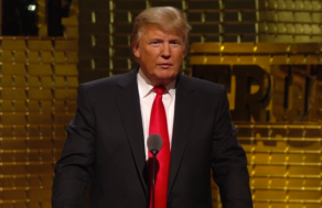 Donald Trump at his 2011 Comedy Central Roast.