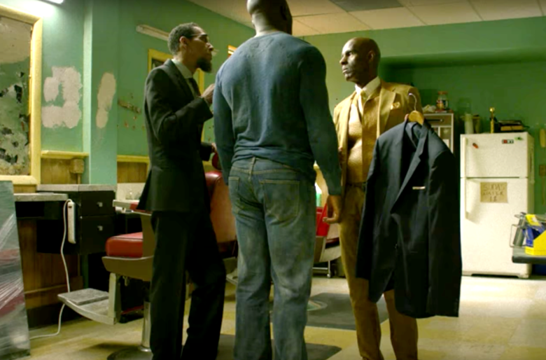 "Dapper Dan cameo in ""Luke Cage"""