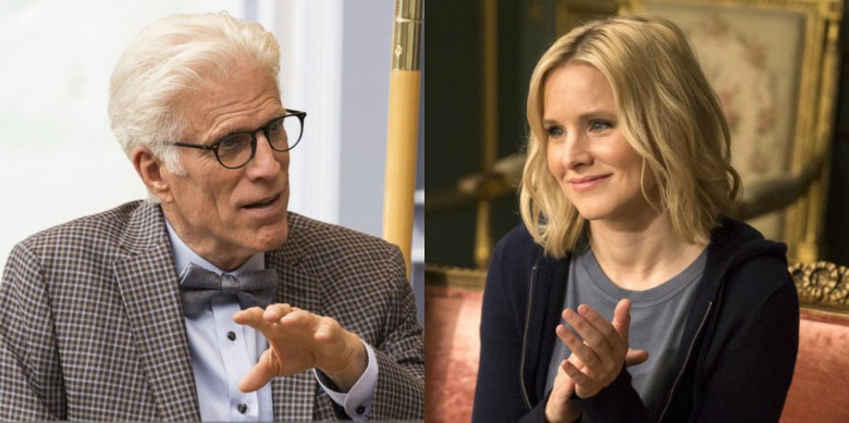The Good Place Season 1 Ted Danson Kristen Bell