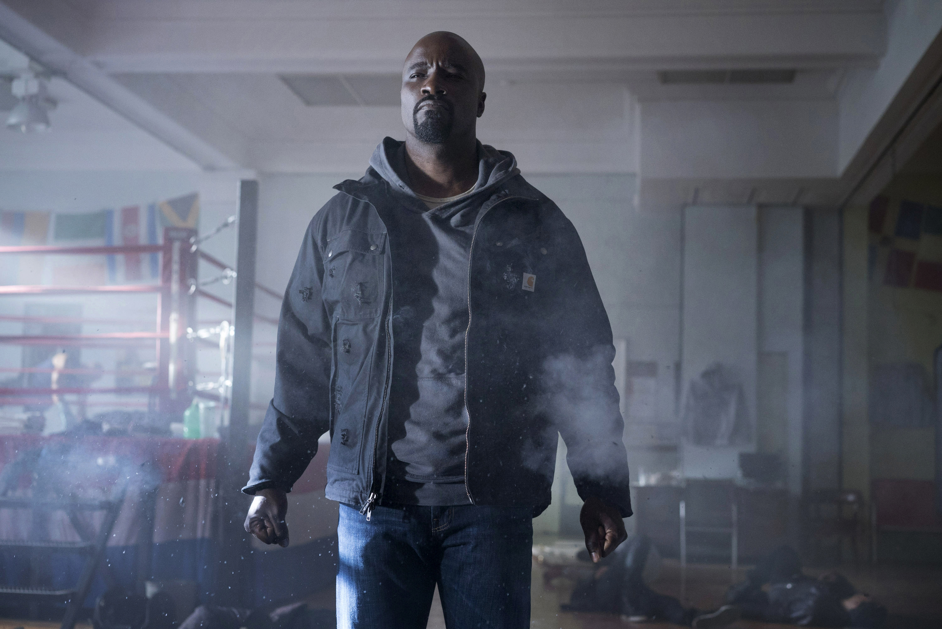 "Mike Colter in ""Luke Cage"""