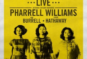 Hidden Figures poster Pharrell Williams Taraji P. Henson Octavia Spencer