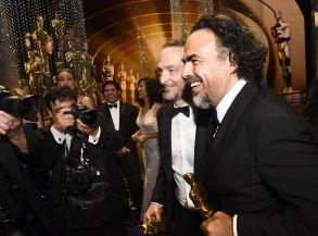 Emmanuel Lubezk and Alejandro G. Iñárritu
