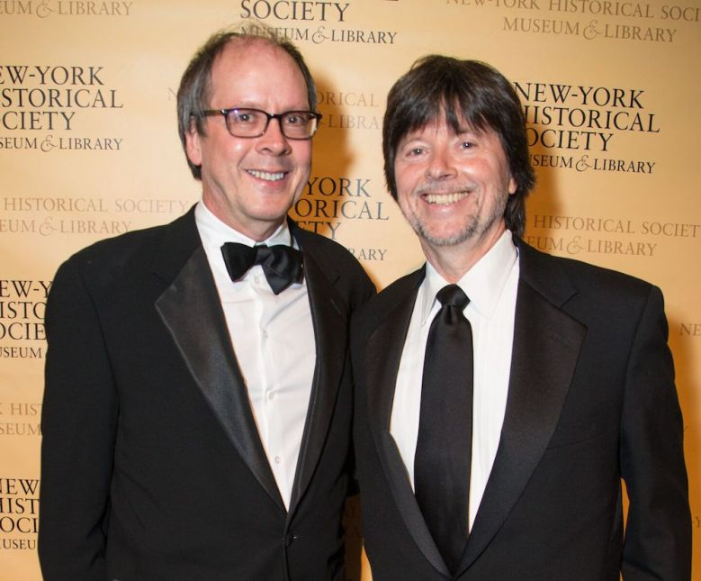 Ric Burns and Ken Burns