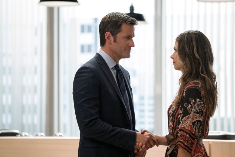 "Peter Hermann and Sutton Foster on ""Younger"""