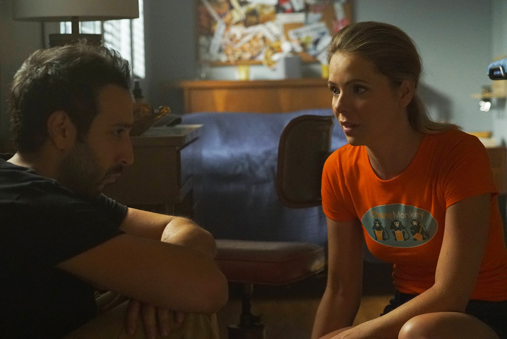 "YOU'RE THE WORST -- ""Twenty-Two"" -- Episode 305 (Airs Wednesday, September 28, 10:00 pm e/p Desmin Borges as Edgar Quintero, Collette Wolfe as Dorothy"