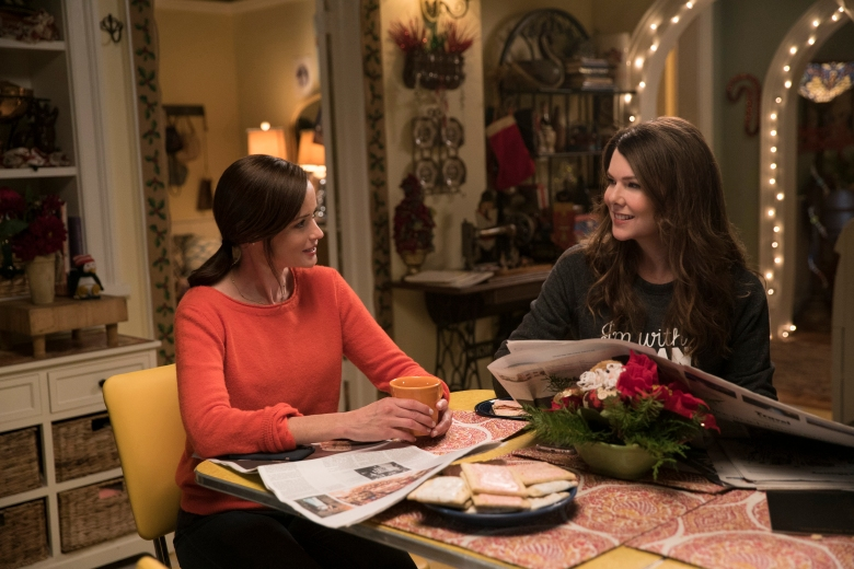 "Alexis Bledel and Lauren Graham, ""Gilmore Girls: A Year in the Life"""
